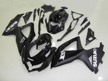 Injection mold Fairing Kit for SUZUKI GSXR 600 750 K8 08 09 GSXR600 GSXR750 2008 2009 Matte&gloss black Fairings set+7gifts SE07