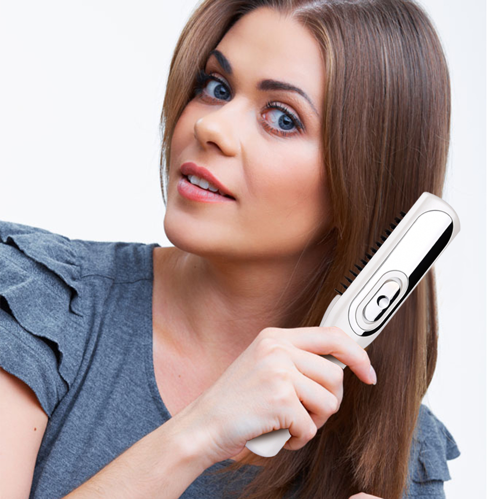 Human - Infrared Massage Hair Growth Laser Comb Stop Hair Loss Treatment