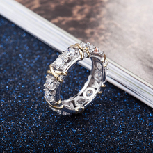 Wholesale & Retail Fashion Fine Zircon Opal Ring Slive Jewelryr For Women  370694