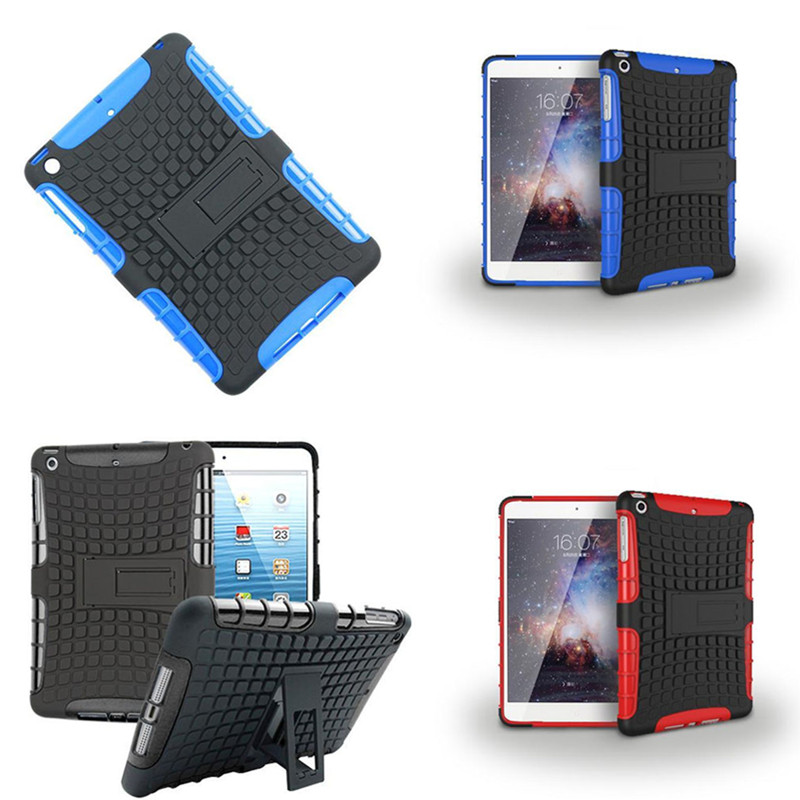 Wholesale HH TPU Hard PC Case + Stand for ipad mini 1 / 2 / 3 Retina 7.9 inch Hybrid Armor Extreme Shockproof Protective Cover<br><br>Aliexpress