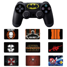 IVY QUEEN Custom 1 PCS PVC Touch Pad Vinyl Stickers Decal Cover For Sony Dualshock 4 PS4 DS4 Controller Touchpad Skin