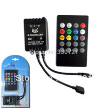 Audio Infrared Remote Controller Music Sound Controller for RGB LED Strip Light
