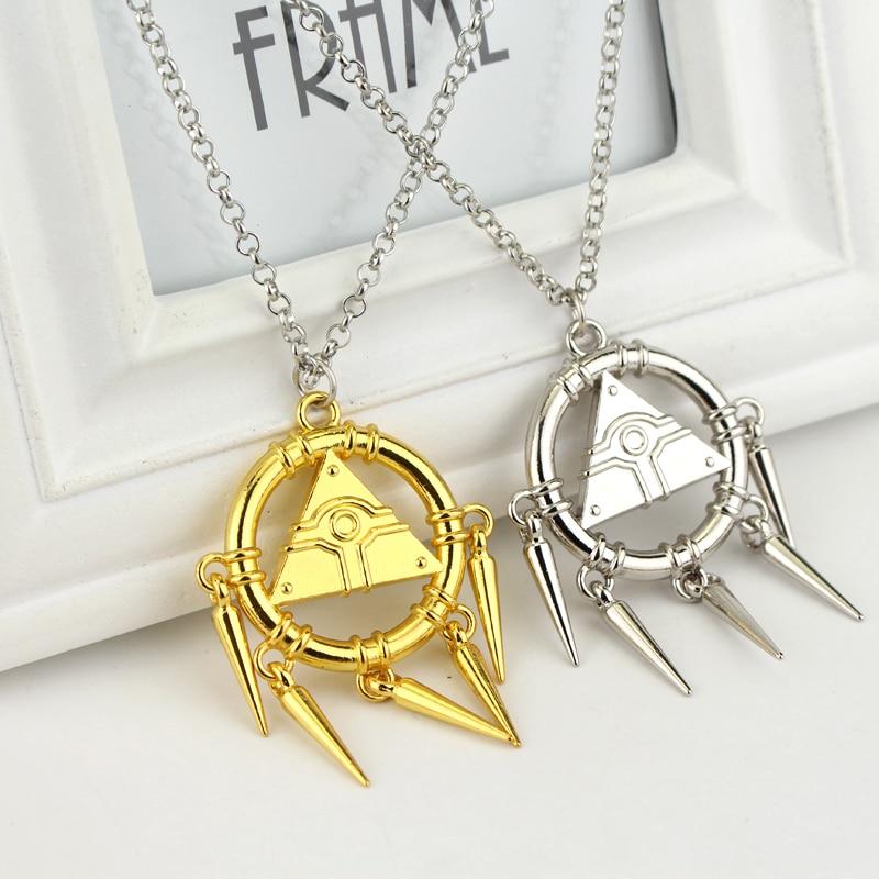 New-Millennium-3Necklace-Yu-gi-oh-Anime-Yugioh-Millenium-Cosplay-Pyramid-Egyptian-Eye-Of-Horus-Necklace (3)