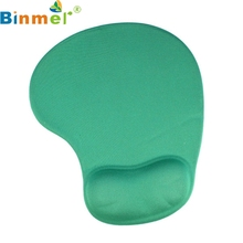 Binmer New Mecall Tech New Comfortable Mouse Pad With Gel Wrist Support for PC Notebook Laptop Tablet PC Free Shipping(China)