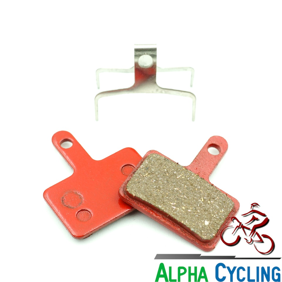 2 Pairs Resin Bicycle Hydraulic Disc Brake Pads Lining For TEKTRO Dorado HD-E710