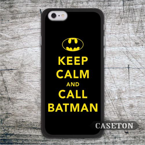 Keep Calm And Call Batman Case For iPod 5 and For iPhone 7 6 6s Plus 5 5s SE 5c 4 4s Funny Lovely High Quality Phone Cover