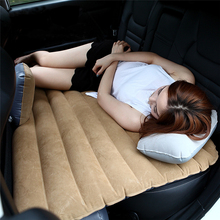 High Quality Offroad Travel Inflatable Car Bed with Inflatable Seat Outdoor Sofa Thicken Outdoor Mattress Car Mattress