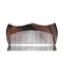 Natural Hand-Carved wood combs health care comb hair straightener gift styling tools easy to carry
