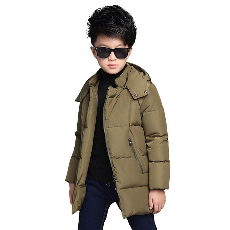 2017 New Fashion Boy Winter Coat Thicken Warm Children Cotton-Padded Clothes Leisure Long-Sleeved Kids Clothes HL0622Одежда и ак�е��уары<br><br><br>Aliexpress
