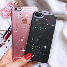 Buy Transparent Star Clear Soft Gel TPU cover skin Shockproof Case Apple iPhone 5 5s SE 6 6s plus 7 PLUS cases + for $1.49 in AliExpress store