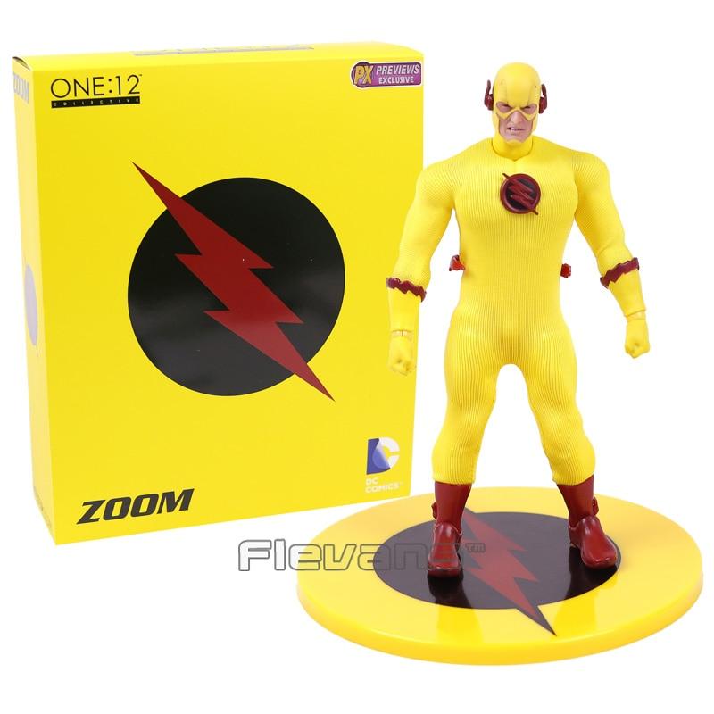 PX Previews Exclusive DC COMICS The Flash ZOOM Reverse Flash 1/12 PVC Action Figure Collectible Model Toy 15cm<br>