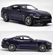 1:18 Ford 2015 Mustang GT hardcover version Models,High simulation Collection model car,Metal car,free shipping(China)