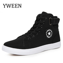 Buy YWEEN Men Canvas Shoes Spring Autumn Top Fashion Lace-up High Style Solid Colors Flat Youth Oxford Casual Shoes for $17.39 in AliExpress store