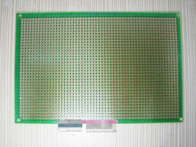 Cost-effective, fiberglass epoxy board 10 x 15 cm, universal board, hole plate, the experiment board, PCB circuit boards