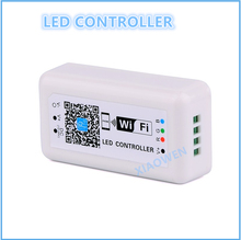 LED Controler DC12-24V MINI LED WIFI RGB Controller for Iphone,Ipad,IOS/Android Mobile Phone Wireless control for RGB LED Strip(China)