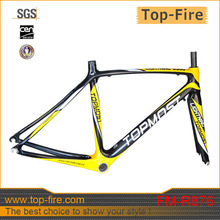 road bike frame carbon fiber frame set 500mm in stock with free shipping FM-R876(China)