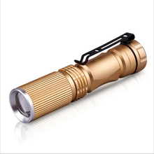 Aluminium Alloy Waterproof Flashlight Zoomable LED Cree XML T6 Flashlight Torch Light With 18650 Battery 3000LM Promotion