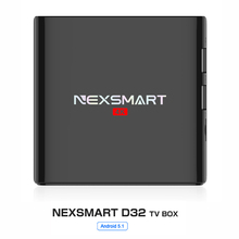 NEXSMART D32 TV Box 1G 8G Smart TV Box Quad-core Armcortex A7 Android 5.1 32bit 1080P 4k 2.4G WiFi Set Top Box Medier Player