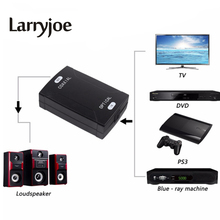 Larryjoe New Optical Toslink input To Coaxial RCA Output Jack Digital Audio Converter Adapter to Transform Audio Format(China)