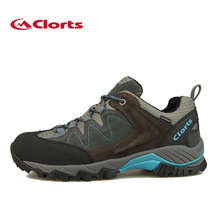 2016 Clorts Men Hiking Shoes Breathable Cow Suede Outdoor Hiking Boots Waterproof Sports Sneakers HKL-806