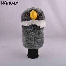 WOTUFLY Lovely Eagle Golf Driver Headcover Outdoor Sport Animal Golf Club Head Cover