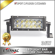 6pcs-36W led light bar high power motorcycle powersports off road ATV UTV 4x4 agriculture truck tractor trailer light