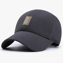 Men's spring& summer sun hat casual sport baseball cap with elastic fabric
