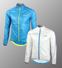 Cycling Windproof Waterproof UV-PROTECT Rain Coat Outdoor Sports Jacket  Bike Wear  Clothes 2 Color