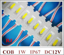 LED COB modules injection mini COB LED module waterproof LED back light backlight for sign DC12V 1W IP67 CE ROHS 35mm*12mm*3mm