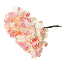 "Paper Artificial Chrysanthemum Flower Decoration Millinery Pink 9.0cm(3 4/8""),1 Packet(Approx 144 PCs/Packet)"