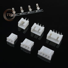 100 sets Kit 2p 3p 4p 2.54mm Pitch Terminal / Housing / Pin Header Connector Wire Connectors Adaptor XH Kits