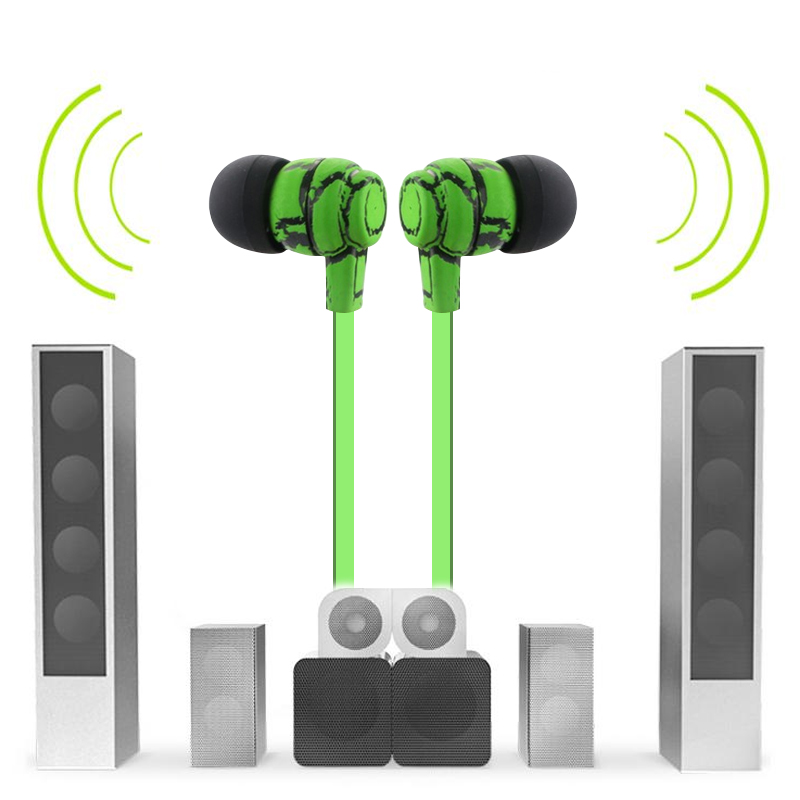 Wireless Bluetooth Earphone 4.0 Portable Stereo Headset Noise Cancelling Headphone With Mic for Xiaomi iPhone Bluetooth Earphone
