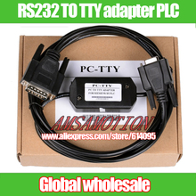 1pcs RS232 TO TTY adapter PLC Programming Cable For S5 PC-TTY pc tty 6ES5734-1BD20