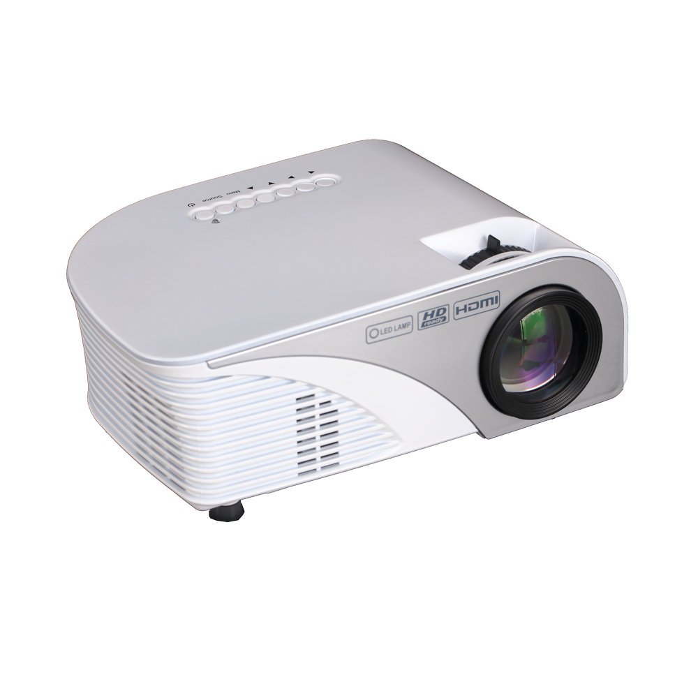 Newest 1200 Lumens RD-805B Multimedia Portable Handheld LCD LED HDMI USB Home Theater Cinema Video Game Movie Projector Beamer<br><br>Aliexpress