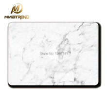Mimiatrend White Marble Grain Sticker Vinyl Film For Apple MacBook Air Pro Retina 11 12 13 15 Inch Decal Full Laptop Case Skins