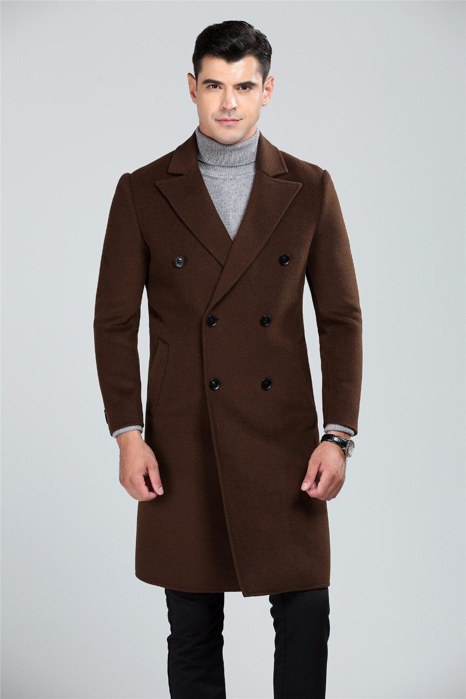 Mens fashion wool coat 37