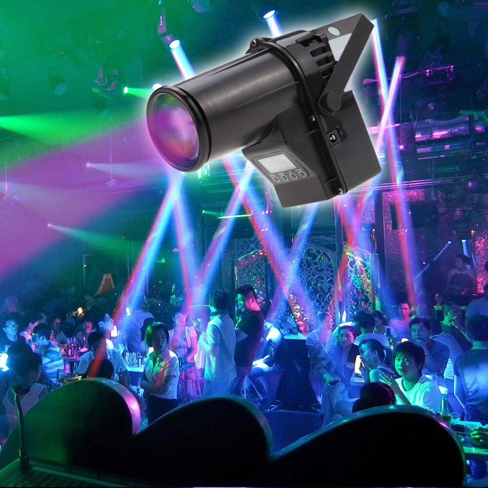 10W 6 Channel Portable Mini Led Stage Light  Rgbw Spotlight Beam Dmx Laser Projector<br>