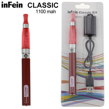 inFein CLASSIC Blister Electronic Cigarette Starter Kit Rechargeable Electric Hookah E Cigarette E Cig Quit Smoking Vaporizer