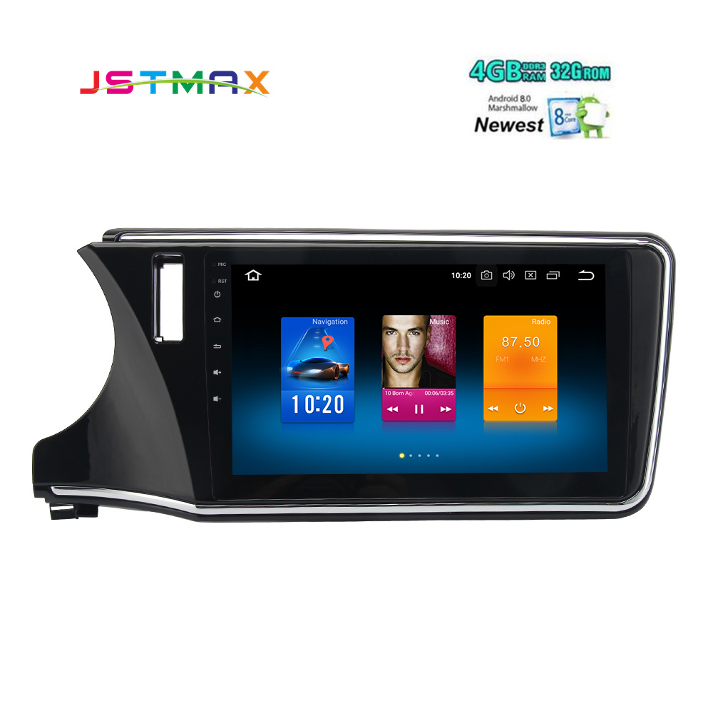 Android-8-0-Car-Multimedia-Player-for-Honda-City-GPS-2015-2016-2017-with-10-2