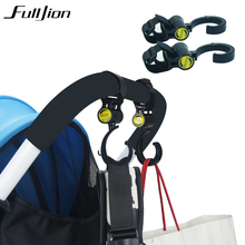 baby stroller accessories pram hook Carriages for dolls hanger pram clutch Black High Quality Plastic Hook 360(China)