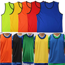 Benwon - Adult's Soccer Group against Vests sports games group against mesh vests no belts football team game bibs jerseys(China)