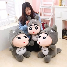 1pcs 35cm Crayon Shin Chan Plush Toy Japanese Anime Shin-chan Cosplay Totoro Plush Cute Stuffed Soft Doll Kids Toy