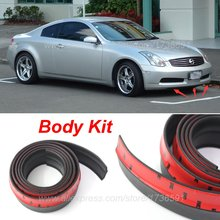 For Nissan Skyline GT R GTR R30 R31 R32 R33 R34 V35 / Bumper Lips / Spoiler / Front Tapes / Body Kit / Thick lips / Side skirts