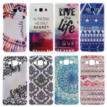 Art Candy Maple Ultra Thin Design Soft TPU Phone Case for Samsung Galaxy A5 Duos LTE SM-A500F A500 A5000 Cover Skin