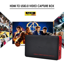 USB 3.0 Game Video Capture hd 1080P USB3.0 Superior AV Capture Box For PS3 PS4 XBox One Playstation TV HD Camera PC Endoscope(China)