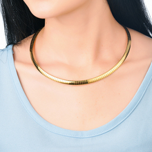 6MM Elegant Choker Necklaces Women 316L Stainless Steel Chain Chokers 2016 Fashion Jewelry Collares - BAOYAN Official Store store
