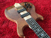 New Arrival 4 strings bass guitar with 5 ply thru maple neck ; walnut top;best finish ;Ebony fretboard Righ hand available