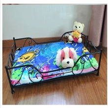 Beautiful iron Dog Bed Pet Dog House Lovely Soft Suitable Pet bed High Quality Products in European