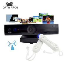 Data Frog Wireless HD TV Game Consoles For Double Parent-Child Interactive Video Game Player Machine Support 8 Bit 32 Bit Games(China)