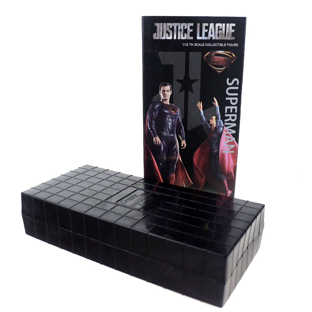 Crazy Toys Justice League Superman 1/12TH Scale Collectible 16cm/6 Figure Free Shipping<br>